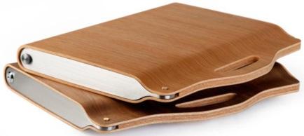 Чехол из древисины для ноутбука