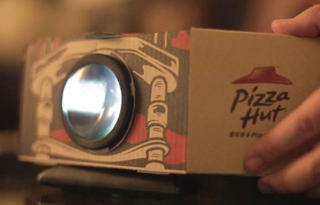 Pizza-Box-Movie-Projector