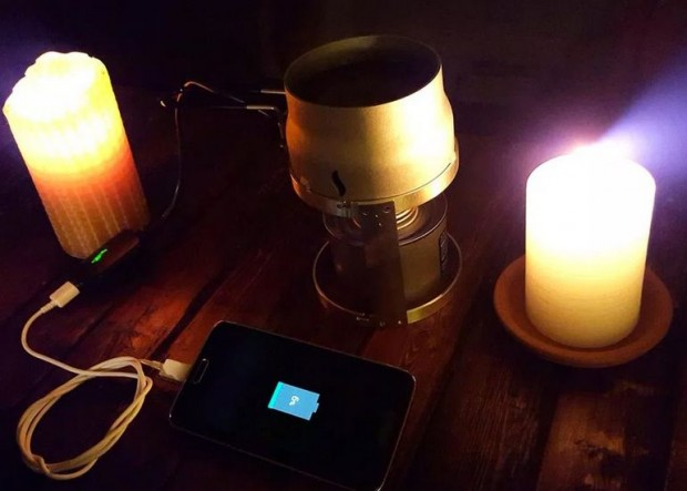Candle-Charger