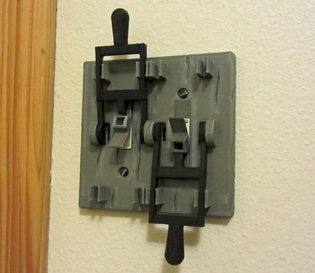 lichtschalter wie bei frankenstein zuhause 11tech. Black Bedroom Furniture Sets. Home Design Ideas