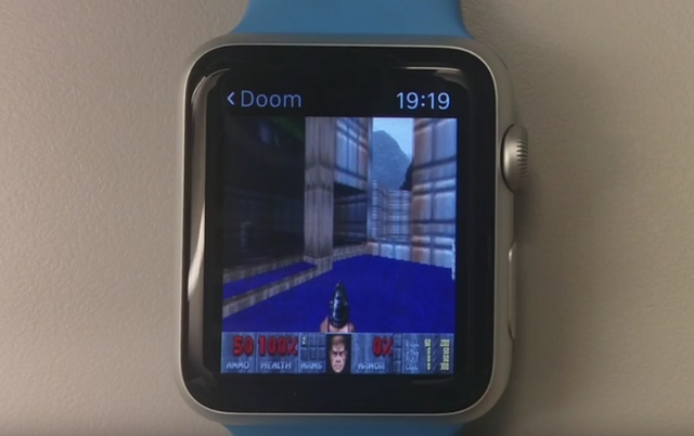 apple watch doom
